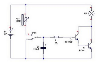 Transistor As a timer circuit