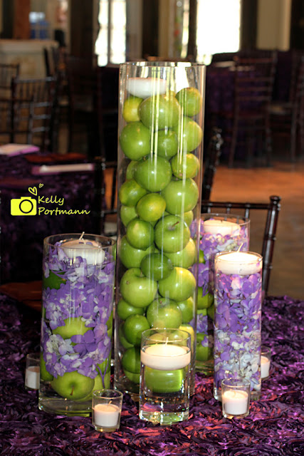 San Antonio Wedding Photographer, Fruit Centerpieces