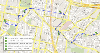 Art Crawl Adventure Google Map Image