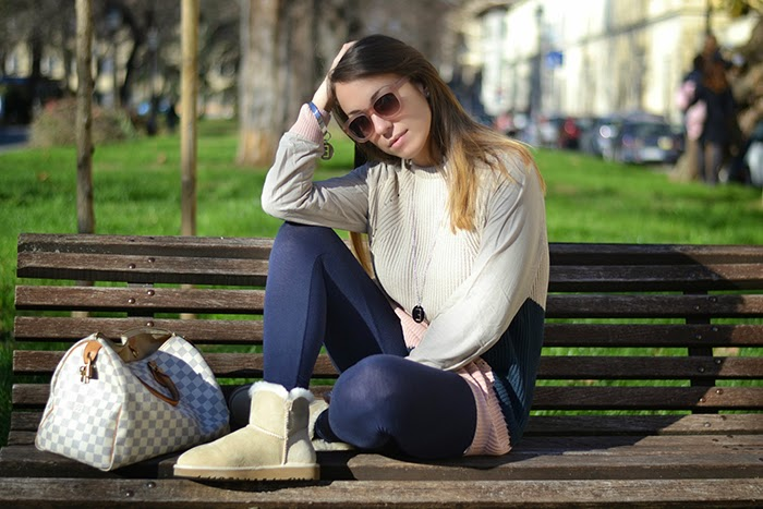 look con leggings ugg