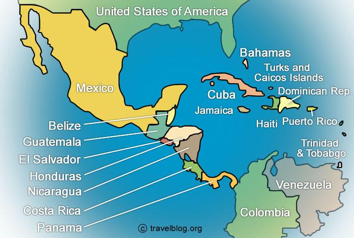kort over puerto rico
