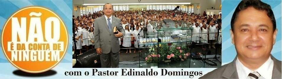 Pastor Edinaldo Domingos