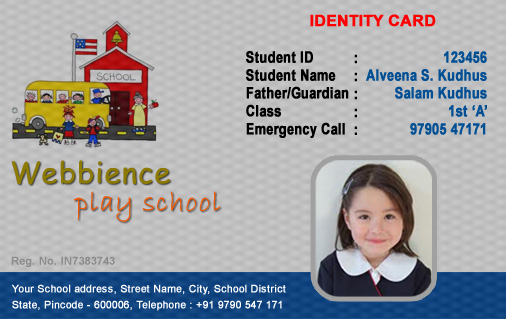 free identification card templates