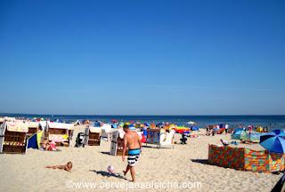 Strandkorb e Windschutz em Trassenheide