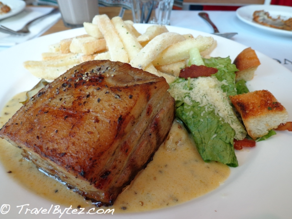 Char-Grilled Char Siew at Everything with Fries