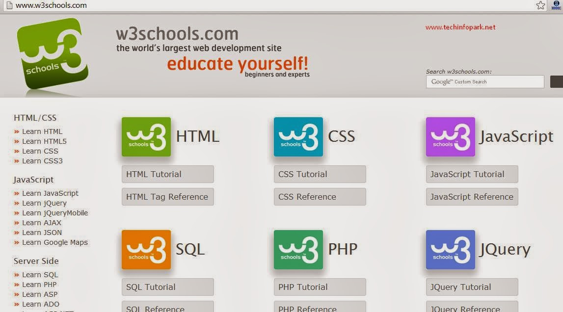 Learn programming w3schools offline mode latest version free download w3schools stopboris Images