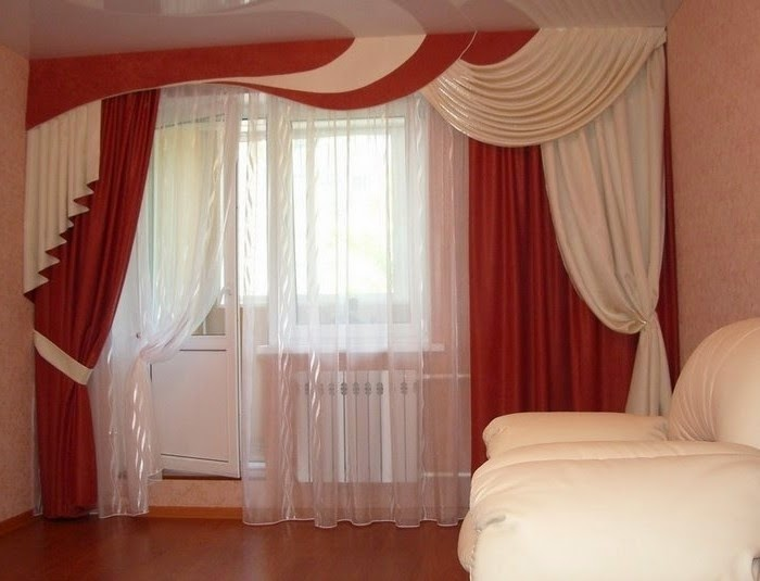 modern classic curtains for living room with luxury interior design