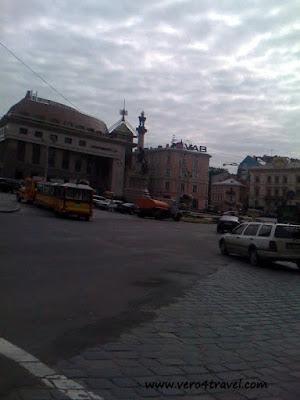 Plaza de Lvov, Ucrania , Lviv