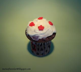 Chokladcupcake
