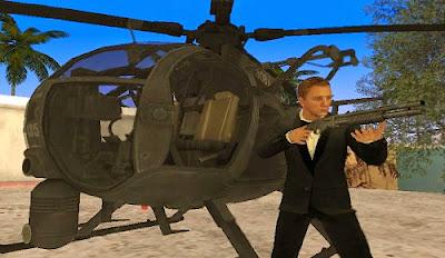 Mod Skin Agent 007