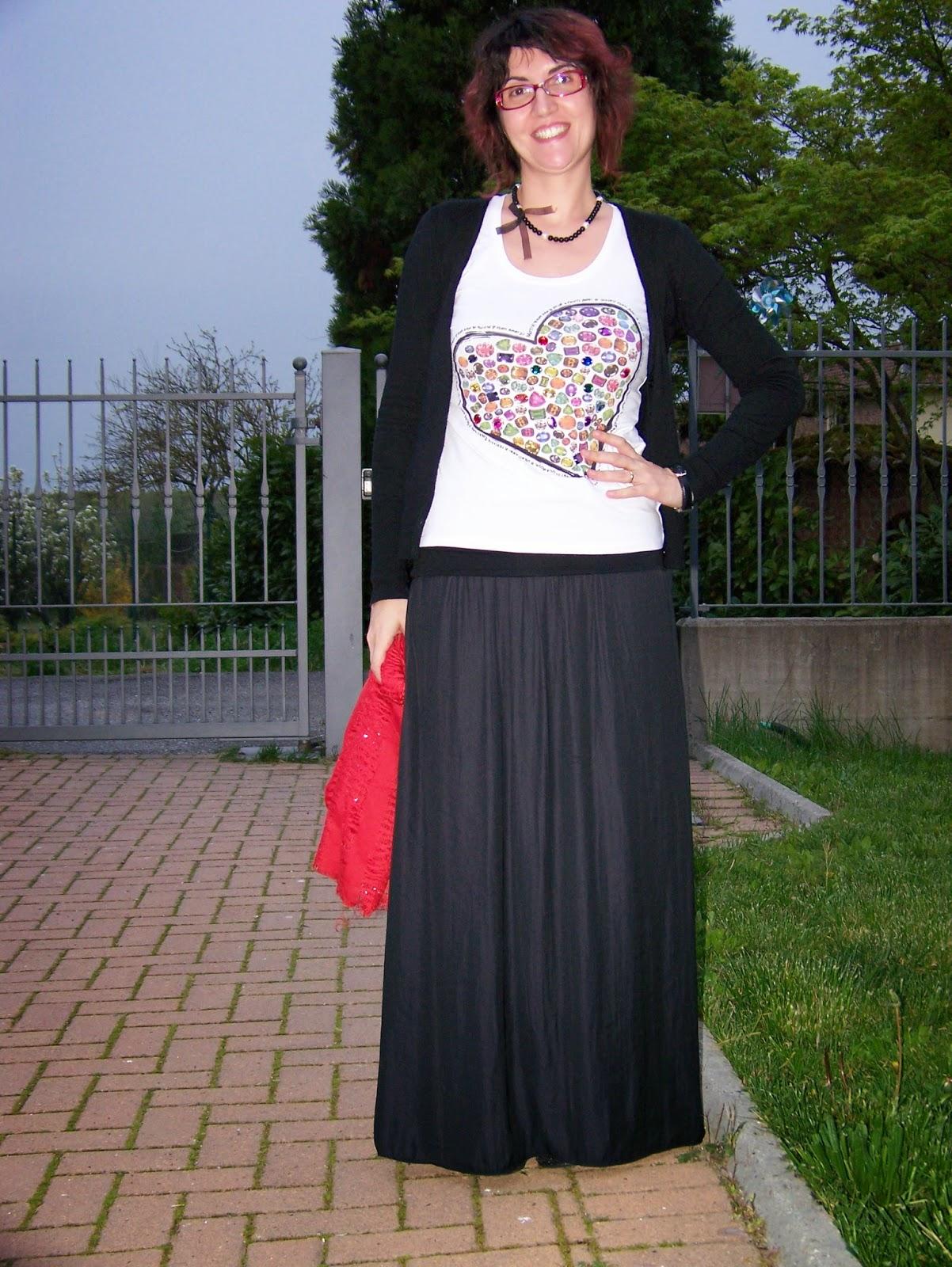Connu Ma Come Mi Vesto?: outfit di ogni giorno: La gonna lunga DM81