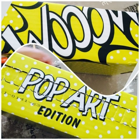Glossy Box Septembre, pop art, boxe, box, beauté, septembre, happy journal