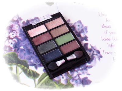 Oriflame Pure Colour 8'li Göz Far Paleti - Sand & Green