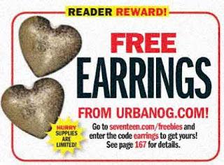 Free Pair of Urbanog Earrings on February 5