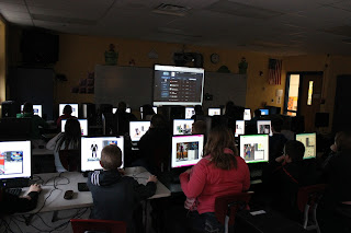 Mr. Suter 3DGamelab students creating Avatars like Garlic