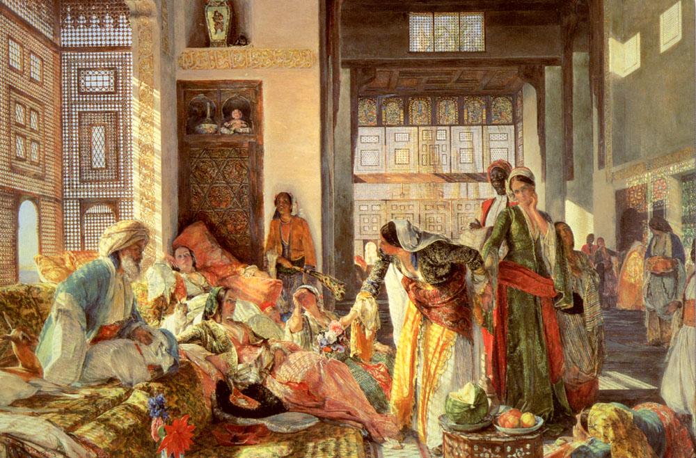 Victorian British Painting John Frederick Lewis Ctd