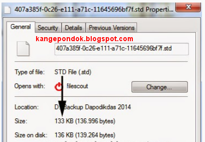 Cara Cek Pengiriman File/Data BSD Berhasil Atau Tidak