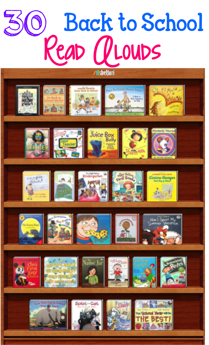 Learning Lab Resources: Back to School Read Alouds