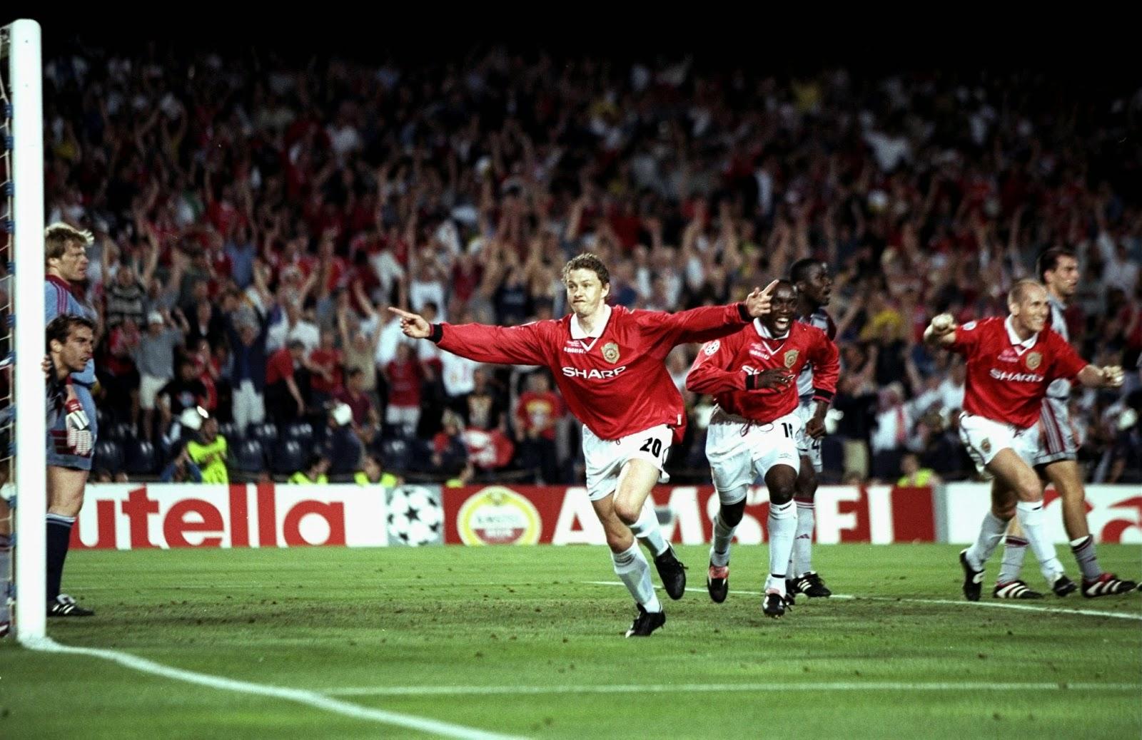 1999 Champions League Final - Manchester United v Bayern Munich