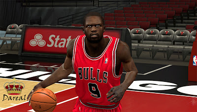 NBA2K Luol Deng Cyberface Patches