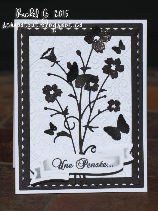 Handmade card, Memory Box, Sympathy