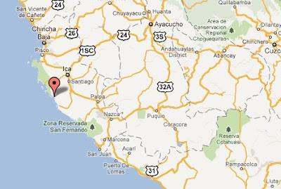 temblor en ica hoy 28 de octubre 2011