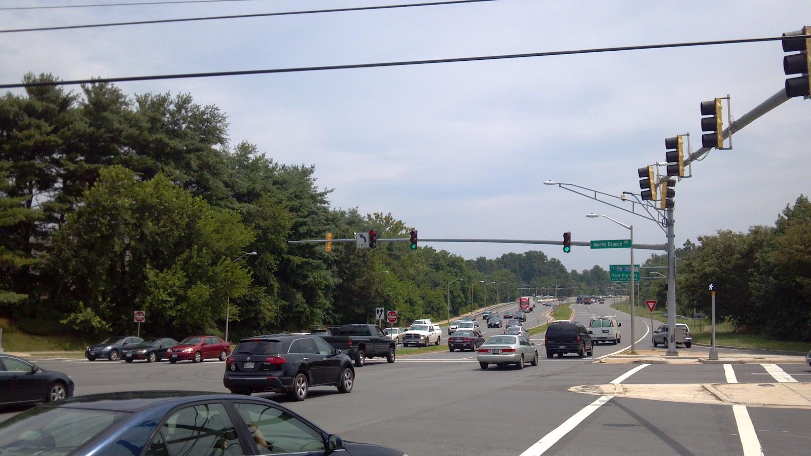 traffic lights intersection