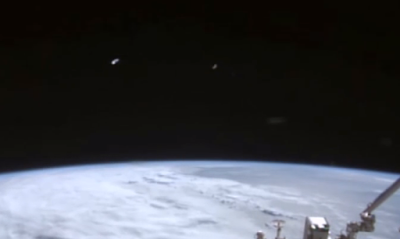 NASA Catches UFO Fleet At Space Station 2015, UFO Sightings
