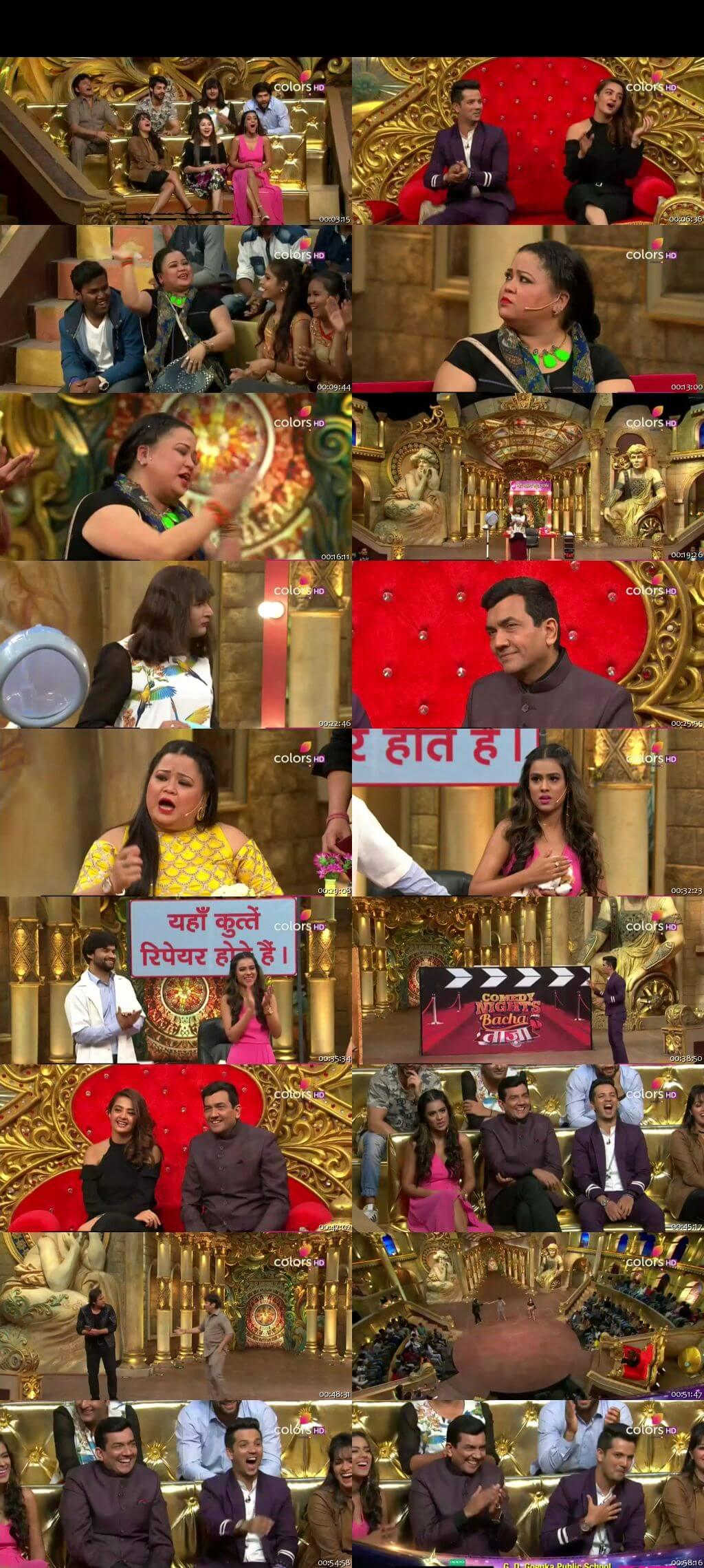 Screen Shot Of Comedy Nights Bachao Taaza 4th December 2016 Episode 62 300MB Watch Online