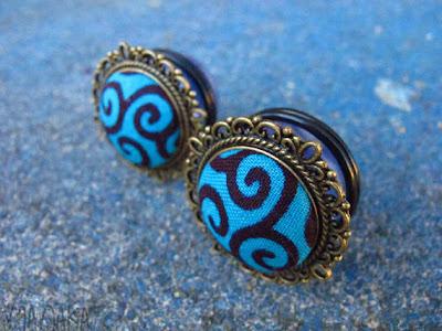 Manaka Handmade ear plugs for stretched ears- iloveankara.blogspot.co.uk