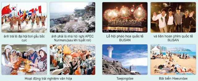 Văn hóa du lịch thành phố Busan
