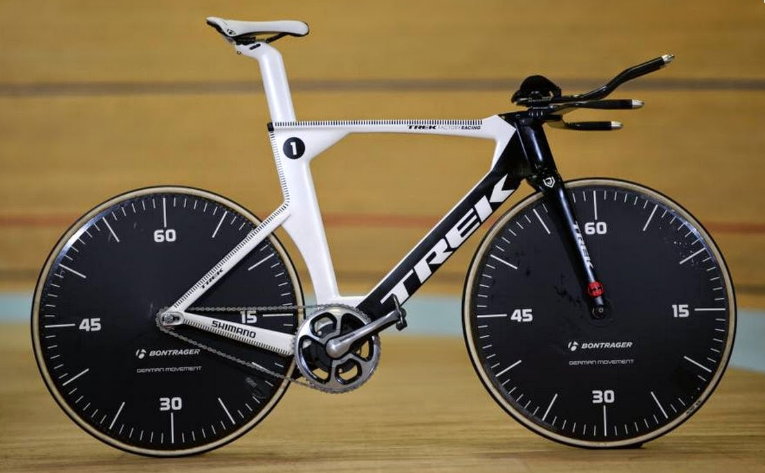 Jens' Hour Record Trek Speed Concept
