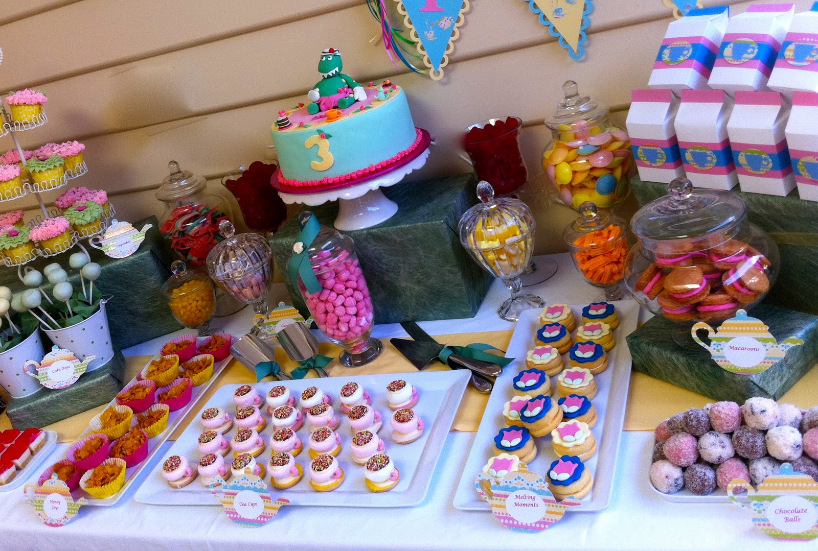 The Inspired Occasion A Dorothy the Dinosaur Tea Party Part 1