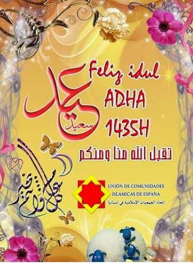 Feliz Idul Adha 1435/2014