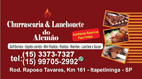 CHURRASCARIA E LANCHONETE DO ALEMÃO