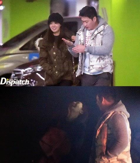 foto yuri snsd dan oh seung hwan kencan