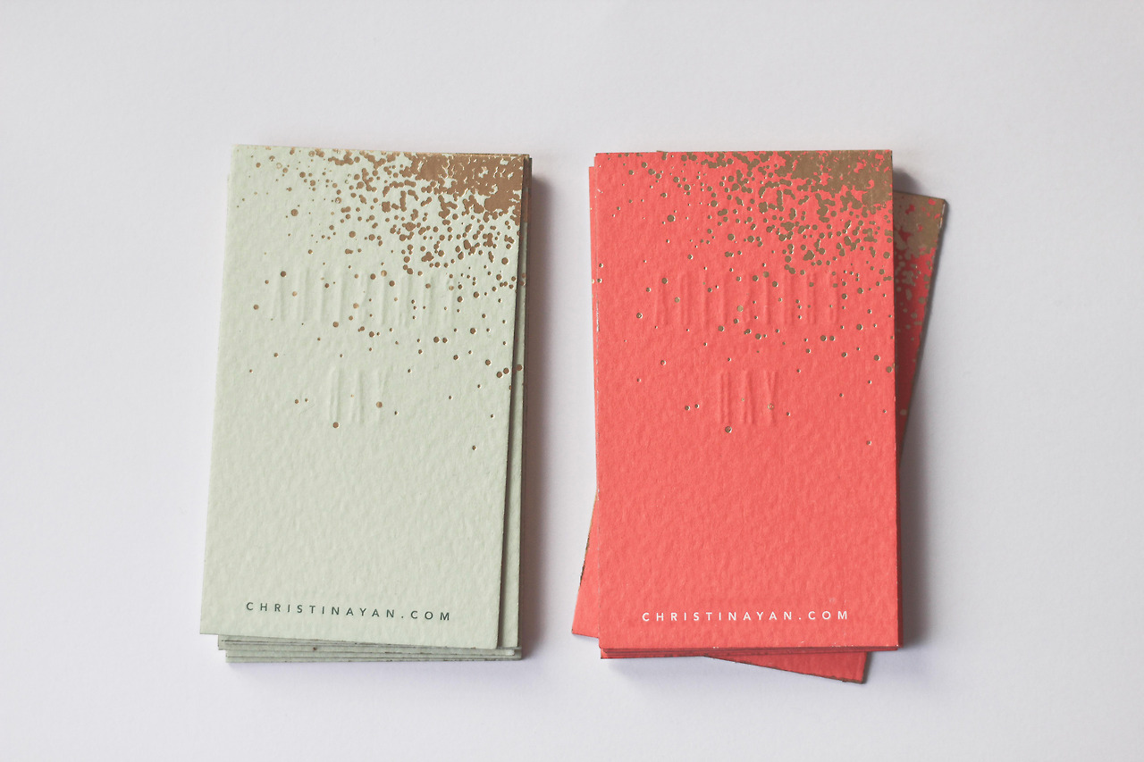 Good design makes me happy project love christina yan business cards project love christina yan business cards magicingreecefo Image collections