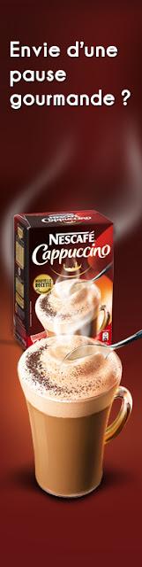 13000 échantillons Nescafe cappuccino GRATUITS
