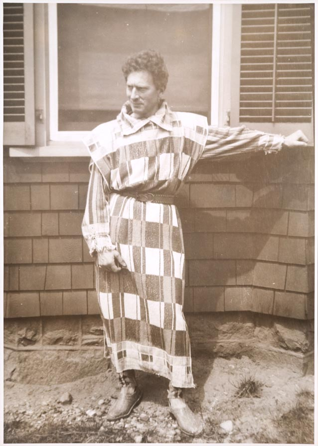 collected photographs: Percy Grainger - towel clothes and ...