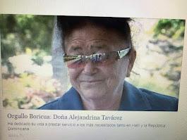 Ya en casa: Alejita Tavarez, una apostol sin titulos