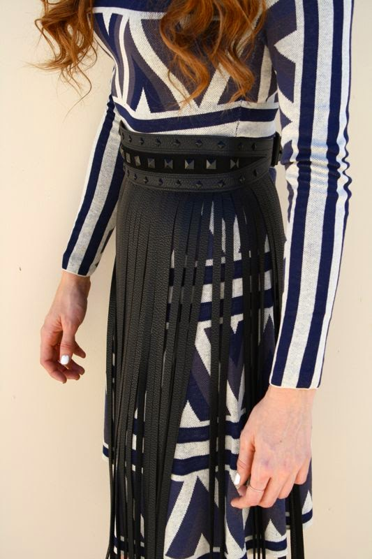 BCBG Dress- Fringe Belt- Fall Trends- Personal Style Blogger-LA personal style blogger-Golden Divine Blog-Ashley Murphy