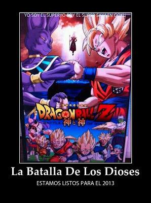 26635 431654463556379 723073478 n Dragon Ball Z: La batalla de los dioses (2013) Español Subtitulado