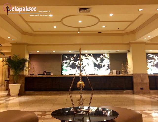 Intercontinental Hotel Manila Reception Area