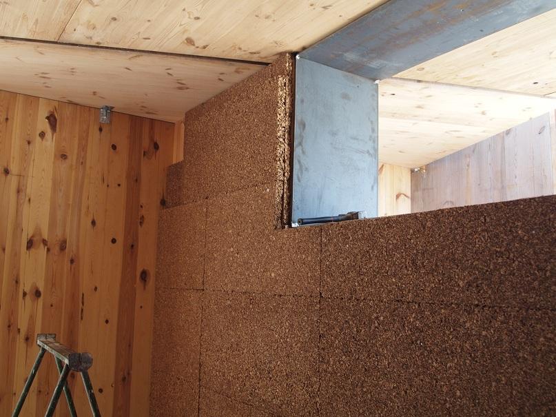 Marzo 2011 aislamiento t rmico corcho diario de una casa - Aislamiento termico para casas ...