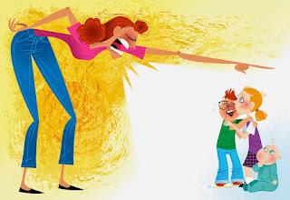 macam mana nak jadi mak tak marah anak