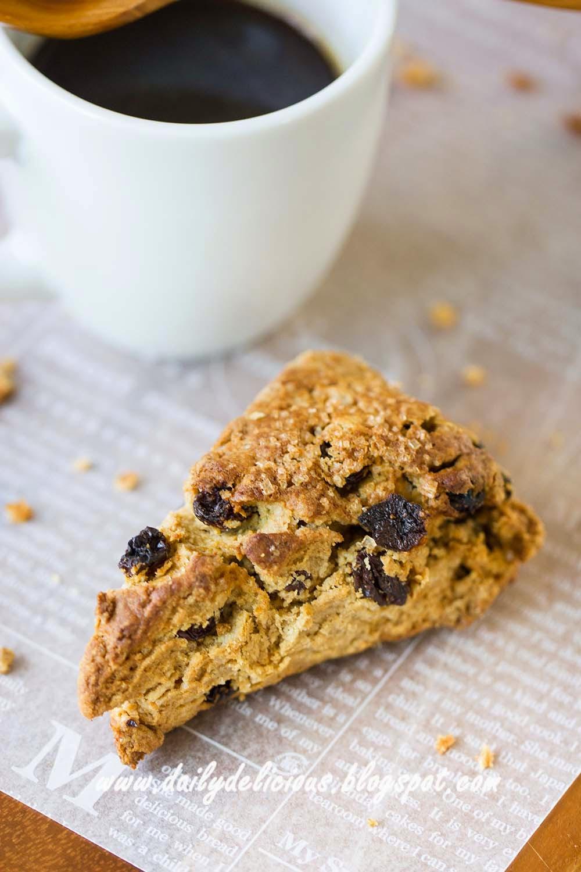 dailydelicious: Good for you scones: Rice bran flour