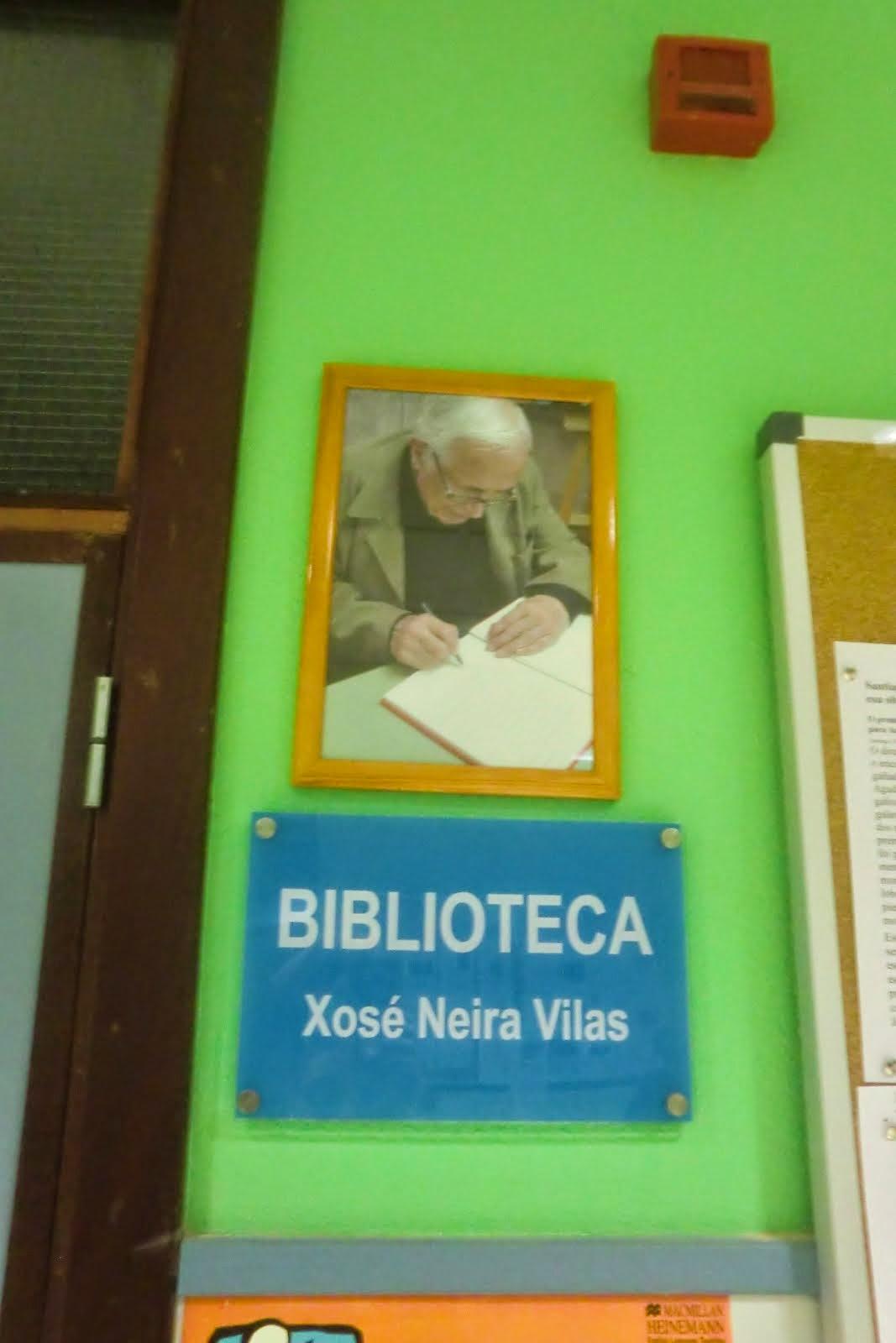 "Biblioteca  "" Xosé Neira Vilas """