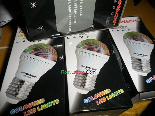 Lampu Led Disco Full Colour (Bulb Bohlam)