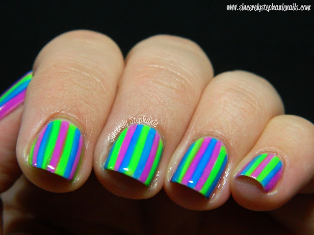 Stripe Nail Art