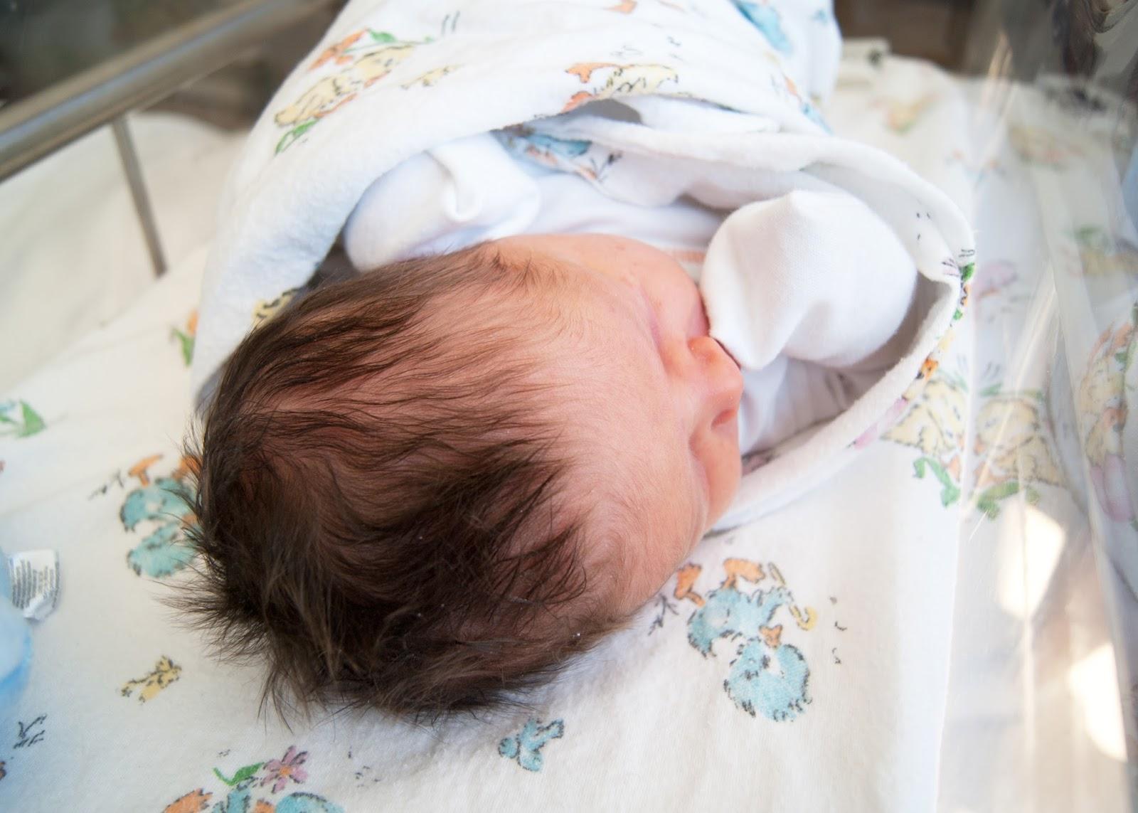 Elynn Coleman  {birth story- part 2} + newborn photos